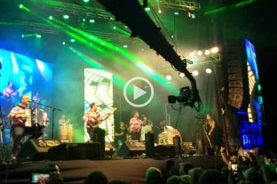 """Los Palmeras se presentaron en la Fiesta de la Cumbia y ¡tocaron """"Soy Sabalero""""! -"""