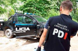 Asalto y muerte en Villa California - Peritos de la PDI inspeccionaron el lugar en busca de algún indicio que conduzca a los asesinos