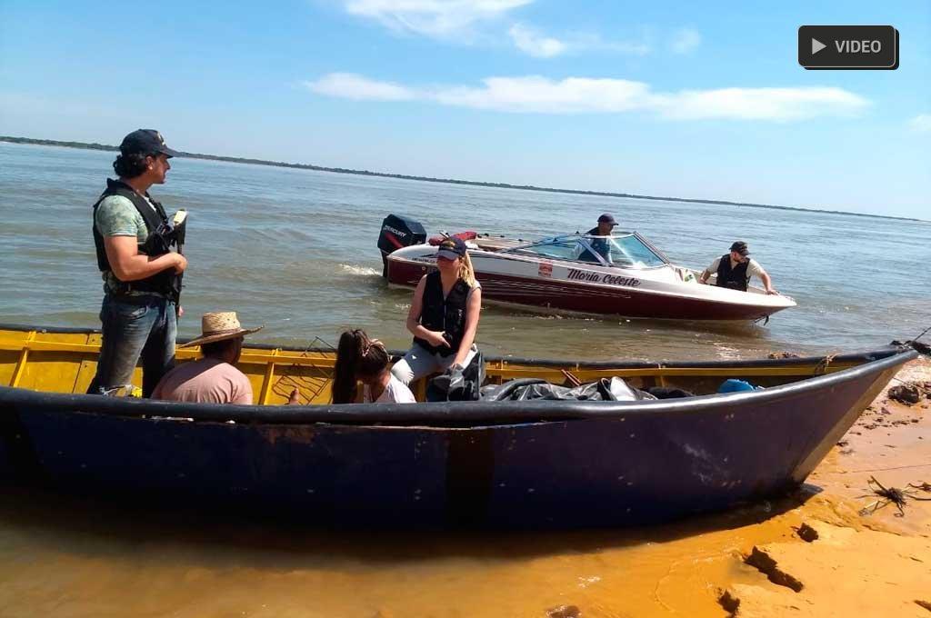 Procesan a falsos pescadores que tenían la canoa llena de marihuana - El Litoral