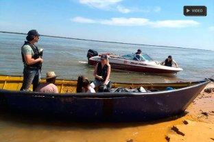 Procesan a falsos pescadores que   tenían la canoa llena de marihuana - Prefectura Naval incautó 160 kilos de marihuana a bordo de una canoa de pescadores artesanales, mientras navegaban por el río Paraná, el pasado 10 de octubre. -