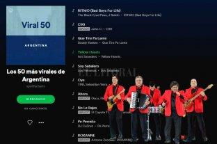 """""""Soy Sabalero"""" de Los Palmeras entre lo más escuchado en Spotify"""