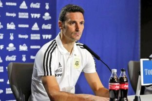 """Scaloni destacó que Argentina """"juega bien y eso es lo importante"""""""