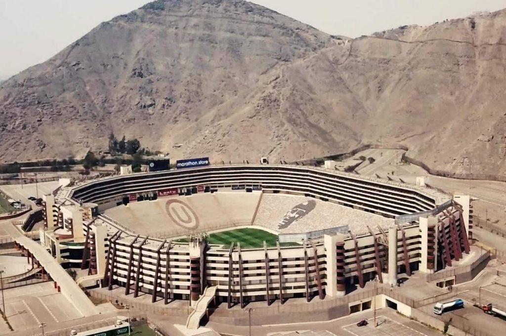 Estadio Monumental de Lima, sede de la final. <strong>Foto:</strong> Gentileza