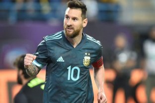 """Messi: """"Siempre es bueno ganarle a Brasil porque así se trabaja con tranquilidad"""""""