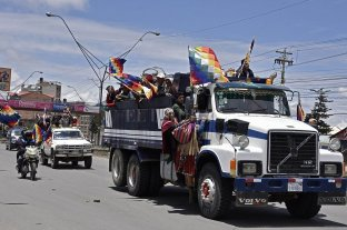 Campesinos e indígenas exigen la renuncia de Áñez y prometen tomar La Paz