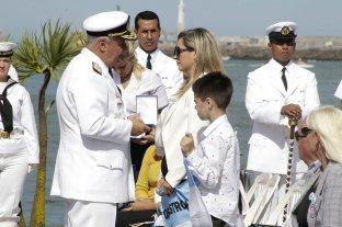 Distinguieron a familiares de los 44 tripulantes del ARA San Juan al cumplirse 2 años del hundimiento -  -