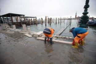 Venecia no tiene respiro: esperan un nuevo pico de agua para este sábado