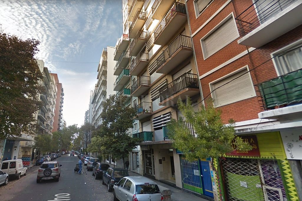 Calle Falucho al 2000 de Mar del Plata. <strong>Foto:</strong> Captura digital - Google Maps Streetview