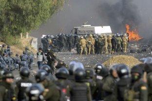 Cinco muertos por la represión policial de una protesta masiva en Cochabamba