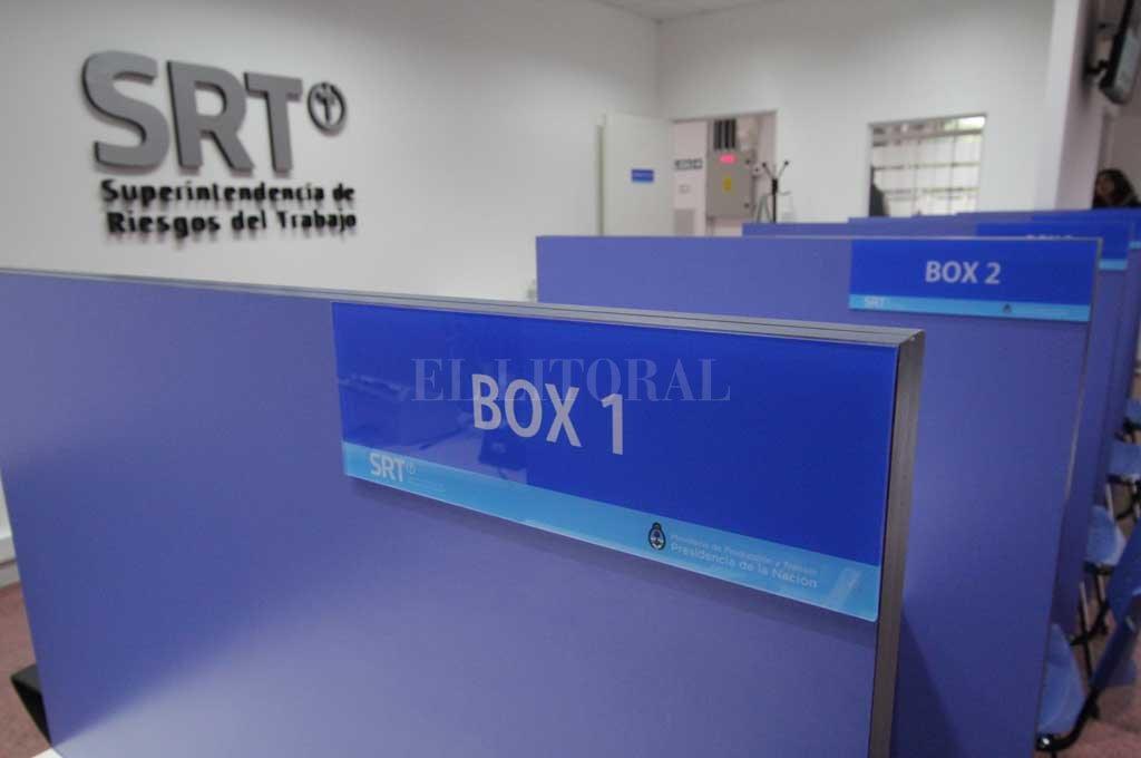Oficinas médicas ya habilitadas en Santa Fe para enfermedades laborales. Crédito: Pablo Aguirre
