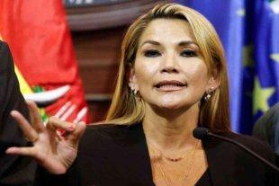 """Añez le mando un mensaje a Mauricio Macri: """"Que sea más claro"""""""