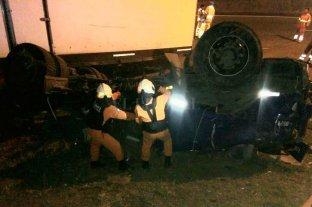 Murió un camionero tras chocar en la Panamericana