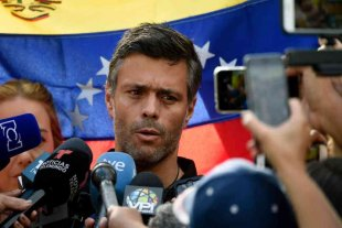 Leopoldo López llamó a todos los venezolanos a marchar contra Maduro