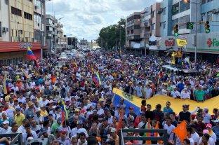 """Guaidó pidió una """"protesta permanente"""" hasta que Maduro deje el poder"""