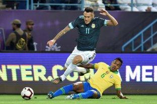 Lucas Ocampos se lesionó y no jugará ante Uruguay