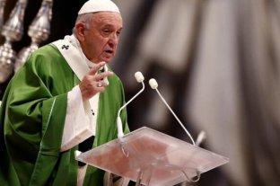 """El Papa pide """"decisiones efectivas"""" para proteger el planeta"""