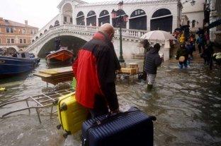 Venecia volvió a inundarse