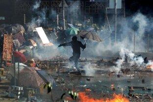 La Policía no pudo reabrir un túnel ciudadano y recrudecen las protestas