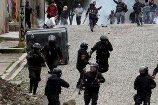 """La CIDH considera """"grave"""" la despenalización de excesos en la represión en Bolivia"""