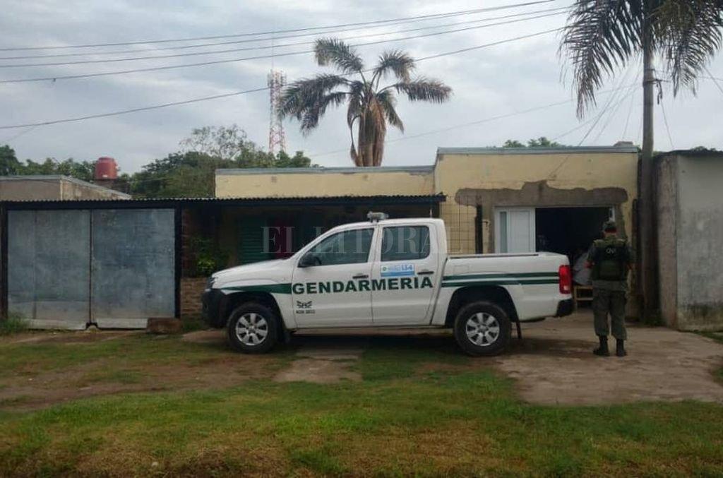 La incautación de 23 kilos de marihuana hace una semana en Formosa desencadenó en 13 allanamientos en cuatro provincias (Buenos Aires, Santa Fe, Río Negro y Chubut). Crédito: Prensa Gendarmeria