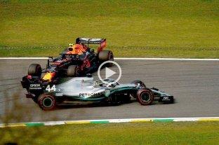 Video: La maniobra por la que penalizaron a Hamilton y lo sacaron del podio en Brasil -  -
