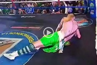 Video: El exarquero Pablo Migliore perdió su invicto como boxeador