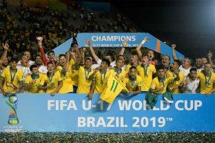 Brasil venció a Mexico y se consagró campeón mundial Sub 17