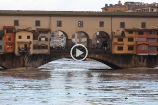 No es sólo Venecia: Pisa y Florencia también están amenazadas por el agua