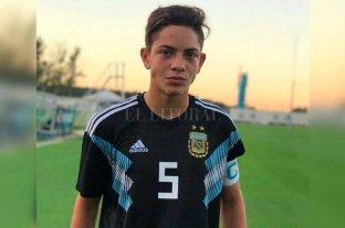 Agustín Giay fue convocado para el Sub 15