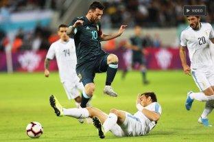 Argentina igualó con Uruguay en Tel Aviv -  -