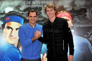 """""""Me hubiera gustado tener la derecha de Del Potro"""", admitió Federer"""