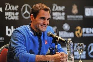 """""""Me hubiera gustado tener la derecha de Del Potro"""", admitió Federer -  -"""