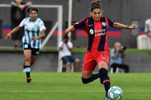 Fútbol femenino: San Lorenzo le ganó a Racing