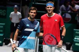 Arranca la serie de Copa Davis entre Argentina y Chile -  -