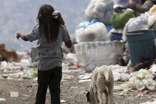 Un informe de Unicef advierte que la mitad de los niños en Argentina son pobres