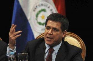 Ordenan la detención del expresidente de Paraguay Horacio Cartes