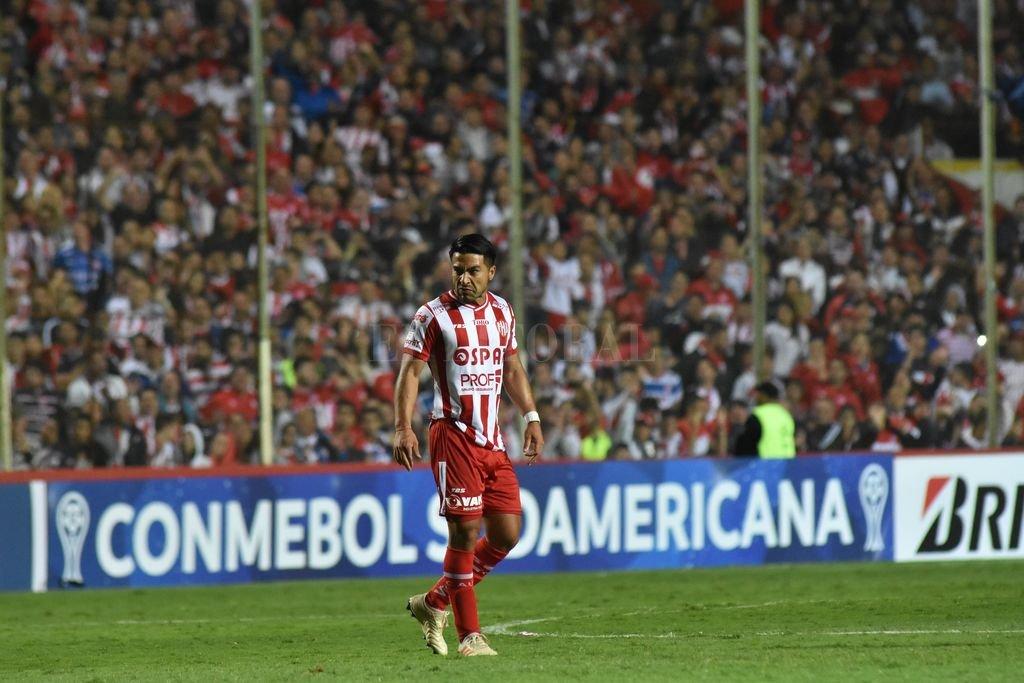 Acevedo en el encuentro de Unión ante Independiente del Valle Crédito: Mauricio Garín
