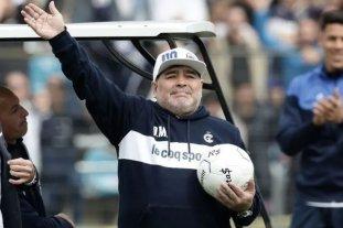 Maradona dejó de ser el entrenador de Gimnasia y Esgrima La Plata