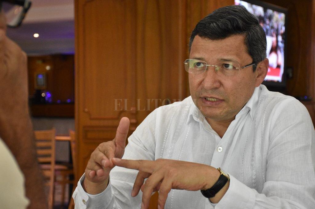 Formado en un colegio salesiano de Bogotá, desempeñó diversos cargos en el Poder Judicial de su país hasta llegar a la procuraduría contra el lavado de activos. <strong>Foto:</strong> Luis Cetraro