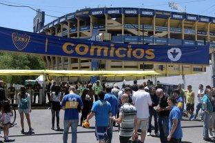 Boca entrenó para enfrentar a Unión, pero todos piensan en las elecciones