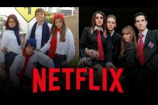 Rebelde Way llega a Netflix