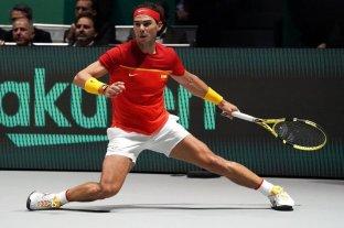 España venció a Rusia en su debut en la Copa Davis