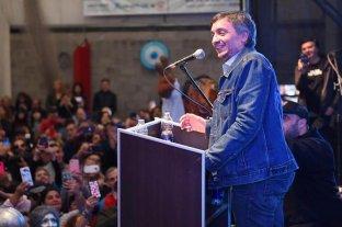 Rossi aseguró que Máximo Kirchner será el jefe del bloque de diputados del Frente para la Victoria -  -