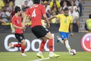 Brasil goleó a Corea del Sur