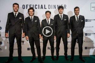 """Video: El equipo argentino de la Davis se presentó con """"Soy Sabalero"""" -  -"""