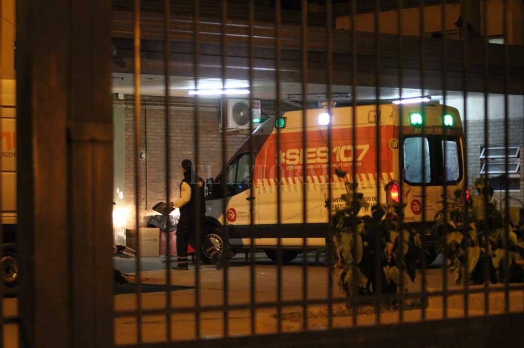 El baleado fue asistido en el Cullen <strong>Foto:</strong> Archivo El Litoral