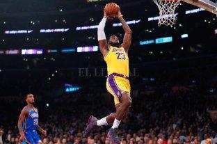 LeBron James batió un nuevo récord en la NBA