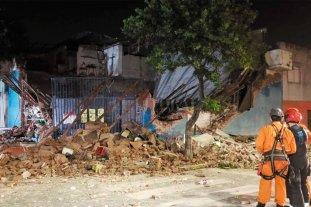 Se derrumbó un supermercado y sus dueños salieron ilesos