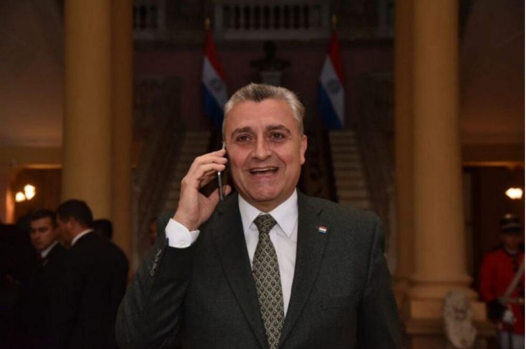 Juan Ernesto Villamayor, jefe de Gabinete Civil de Paraguay.    Crédito: Gentileza