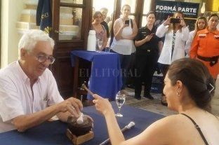 Juan Carlos Pallarols comenzó a cincelar el bastón presidencial para Alberto Fernández